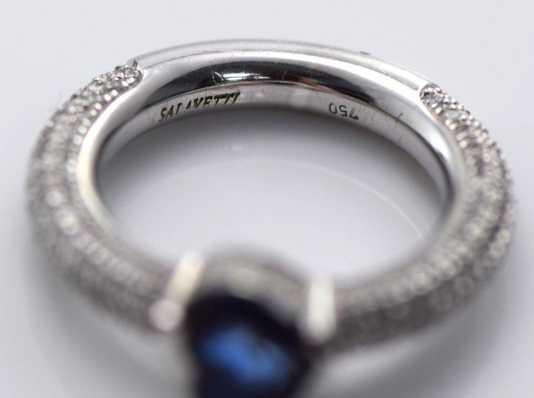 4 Gold Sapphire, Diamond, Ruby & Emerald Rings. - 6