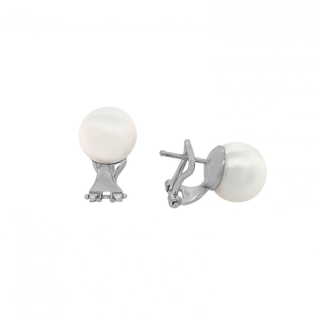 Cultured Pearl Earclip Earring