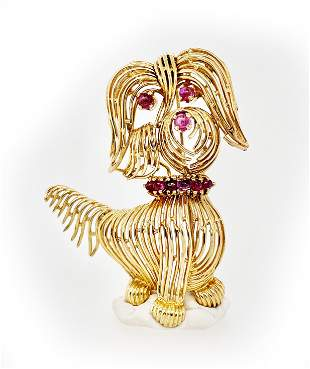 Ruby Gold Dog