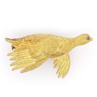 Hermes Golden Goose Pin