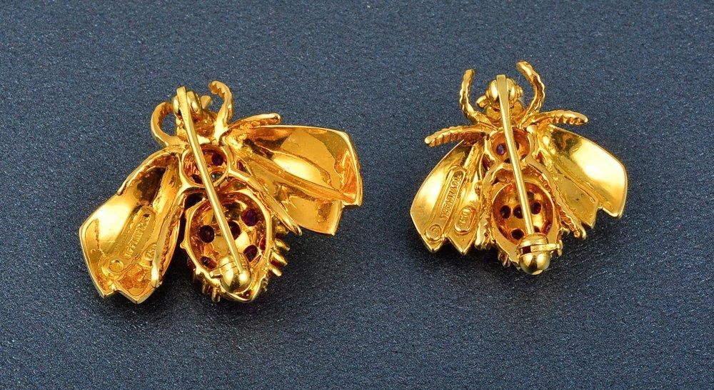 64: Tiffany & Co bumble bees set - 2