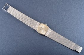 Jaeger-LeCoultre White Gold Lady's Wrist Watch