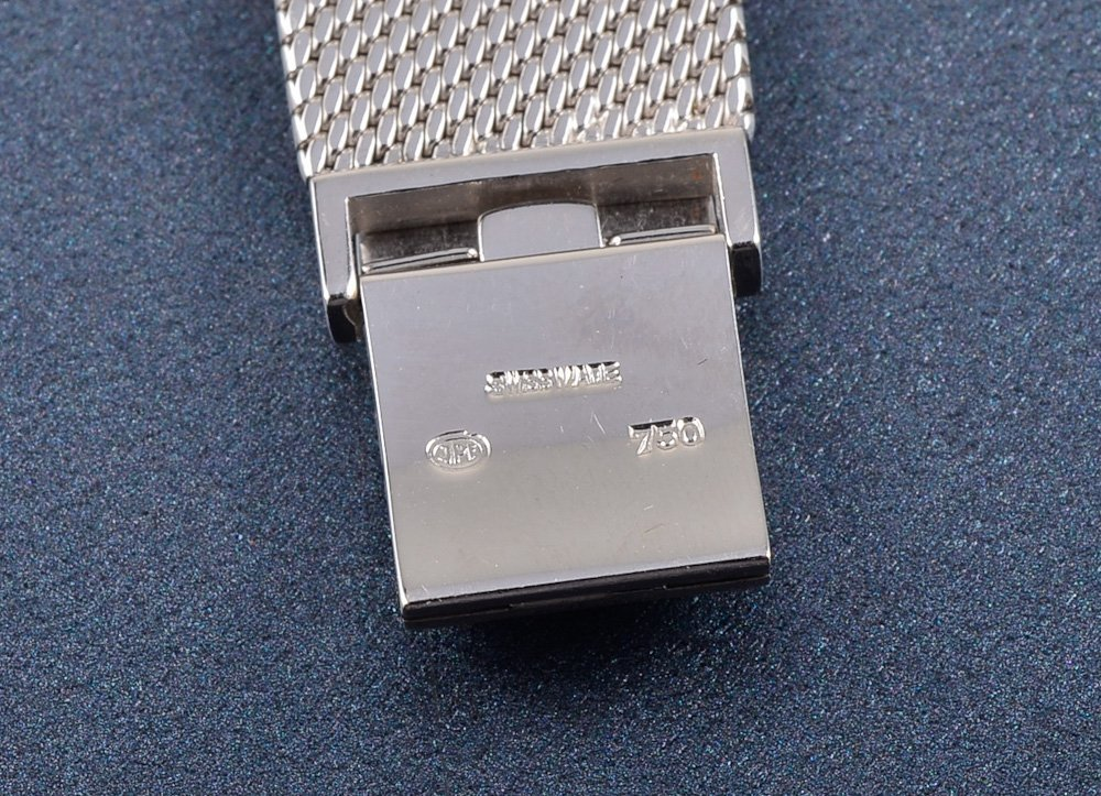 137: Jaeger-LeCoultre white gold lady's wrist watch - 5