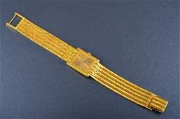 138: Piaget yellow gold Man's wrist watch