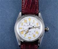 """252: """"Rolex Stainless Steel man's wrist watch"""""""