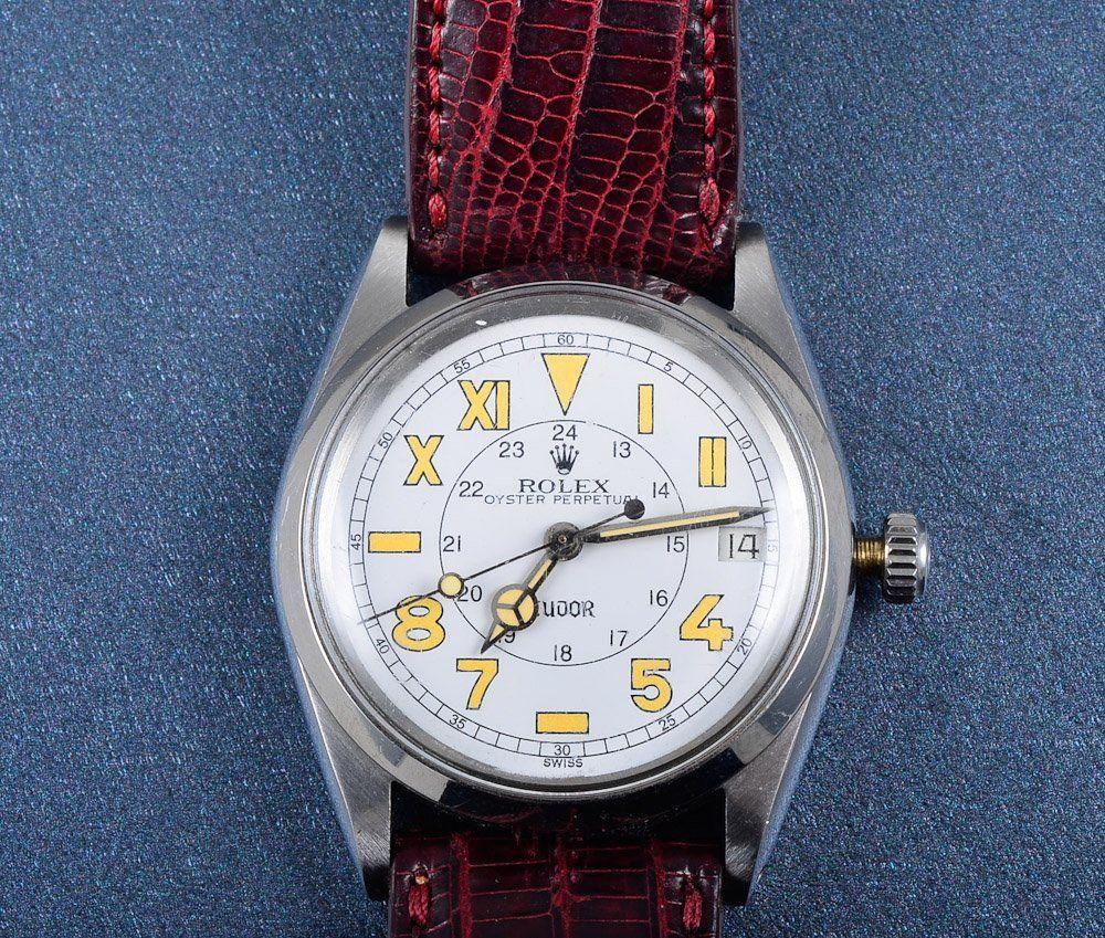 """""""Rolex Stainless Steel man's wrist watch"""""""