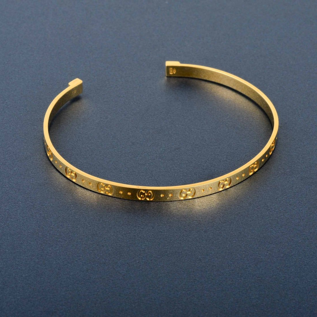 4: Gucci Gold Open Bangle