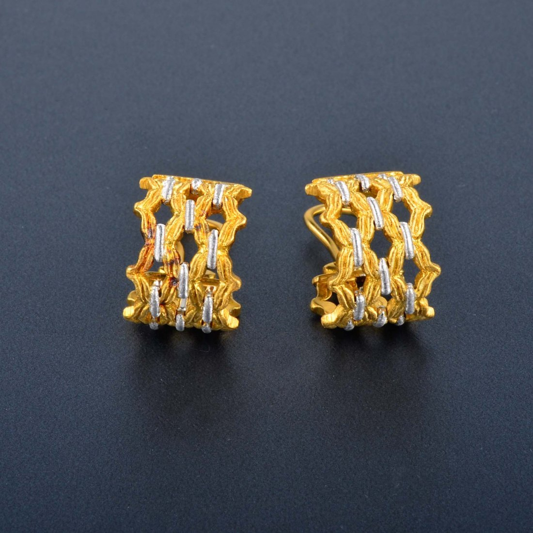 10: Buccellati 2-tone Earrings