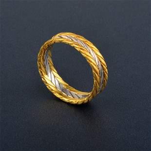 Buccellati 2-tone Gold Band