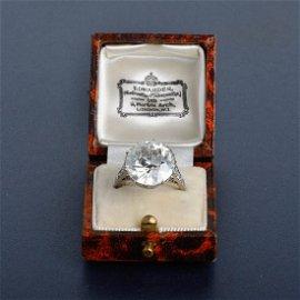100: Shreve, Crump & Low 8.94 ct Diamond Ring