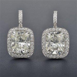 150: Diamond Drop Earrings