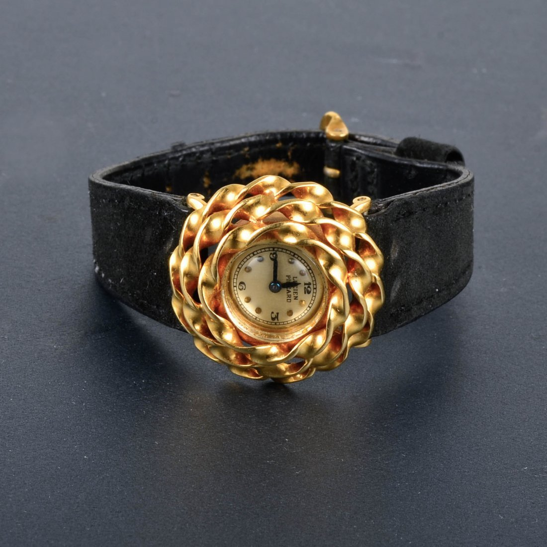Lucien Piccard 14K YG Woman's Watch