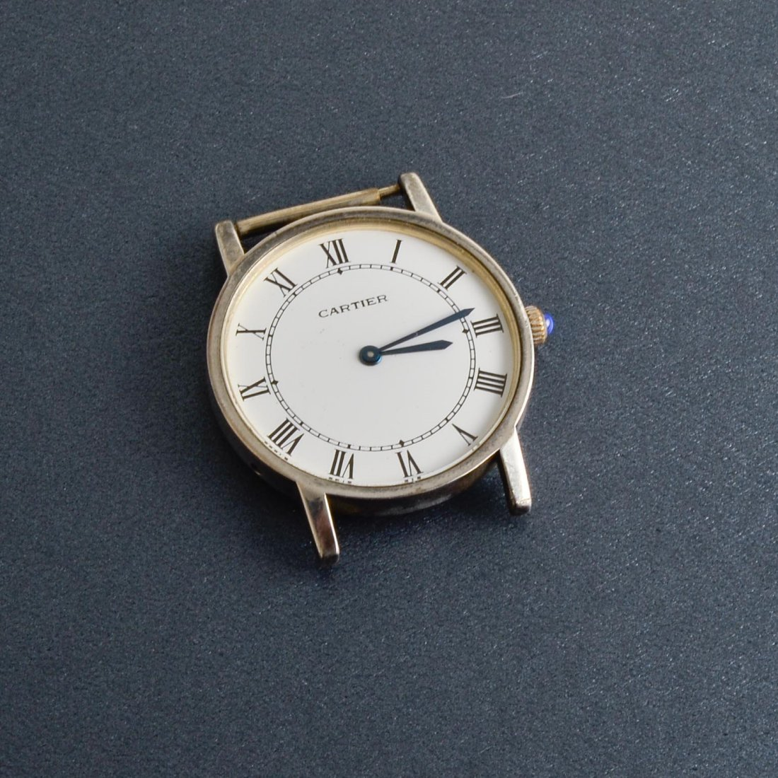 Cartier Woman's Round Silver Watch