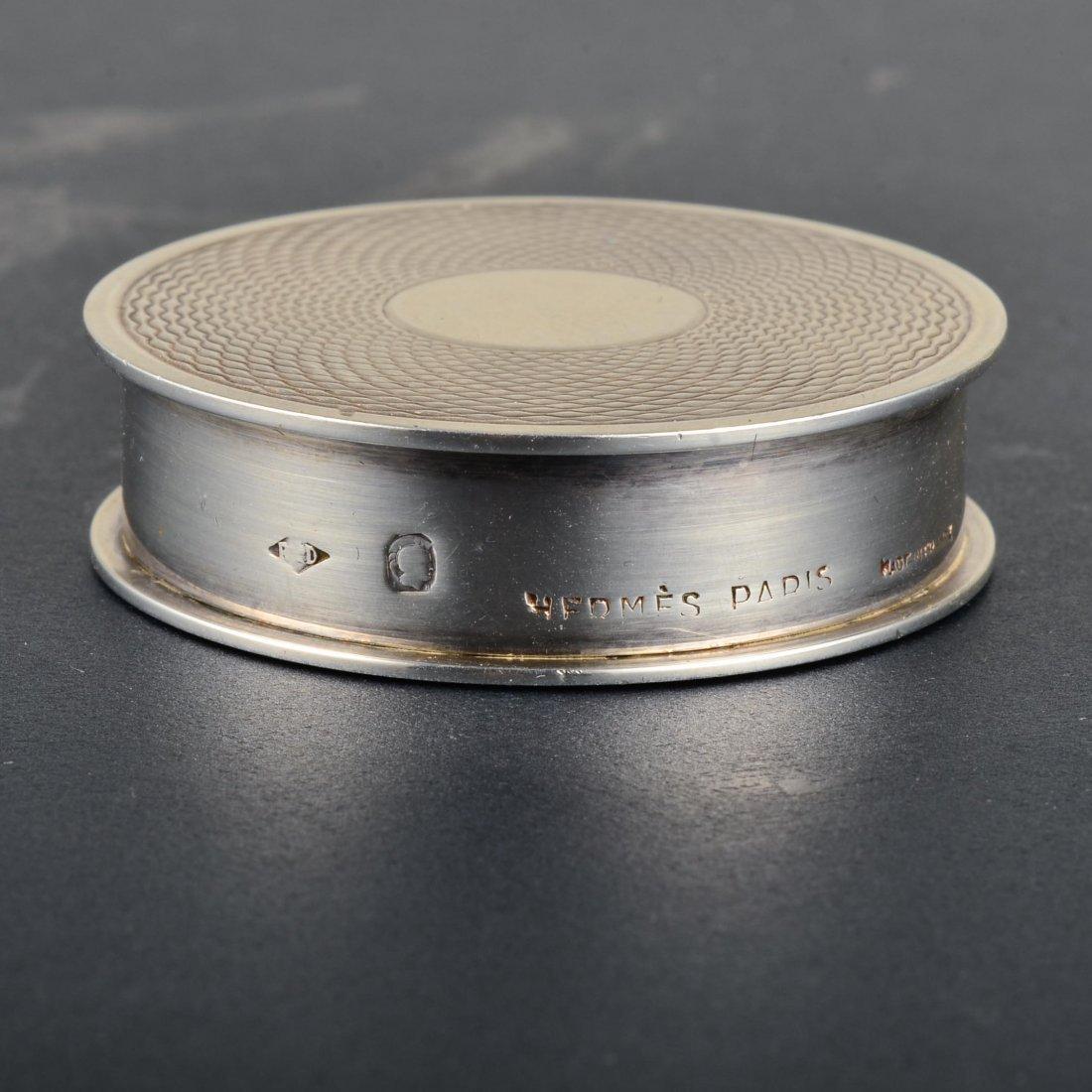 Hermes Silver Pillbox - 2