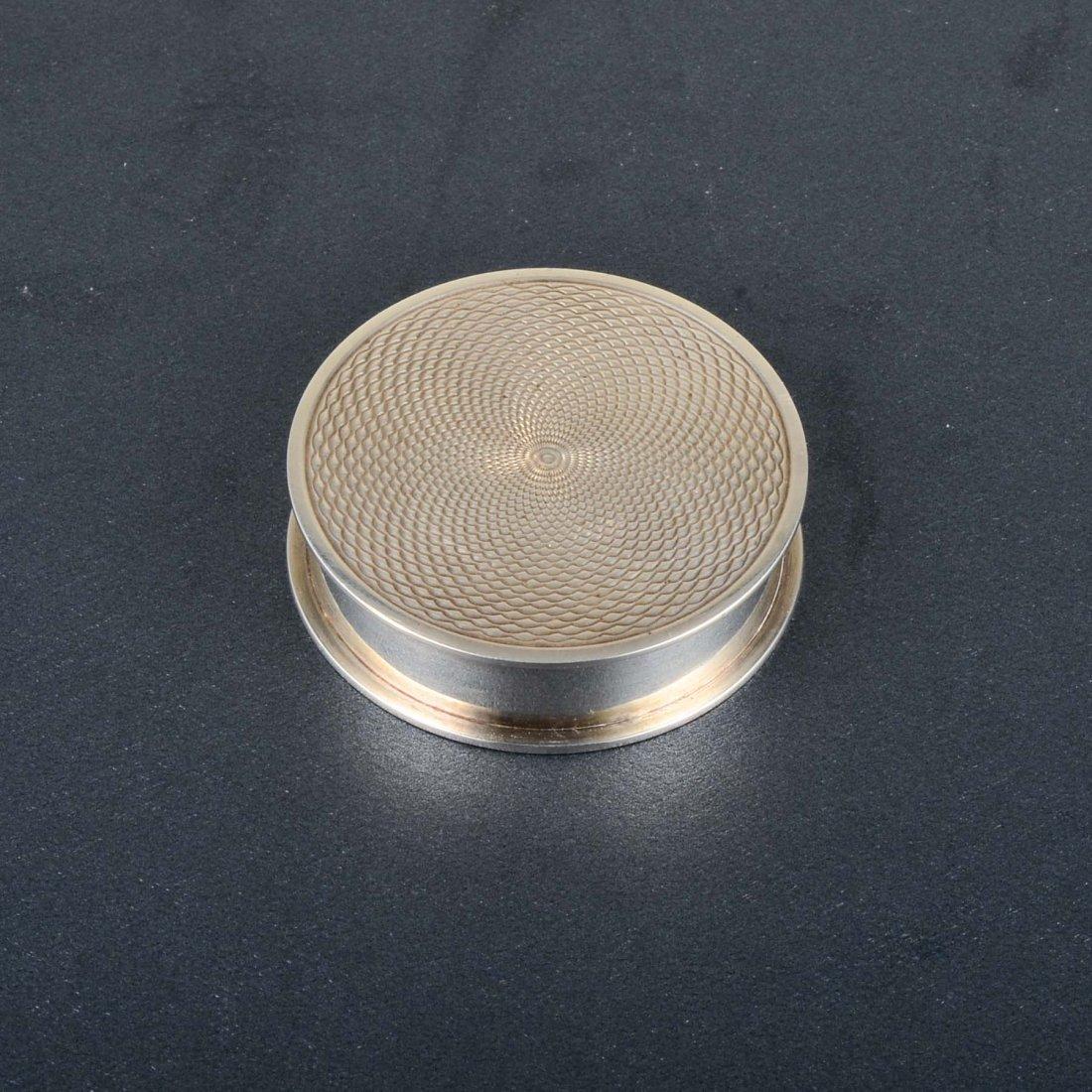 Hermes Silver Pillbox - 3