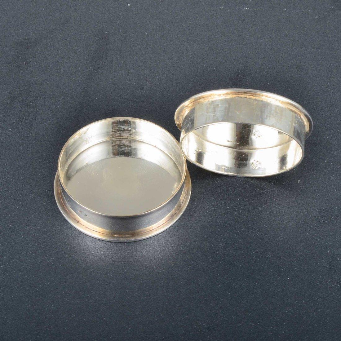 Hermes Silver Pillbox - 4