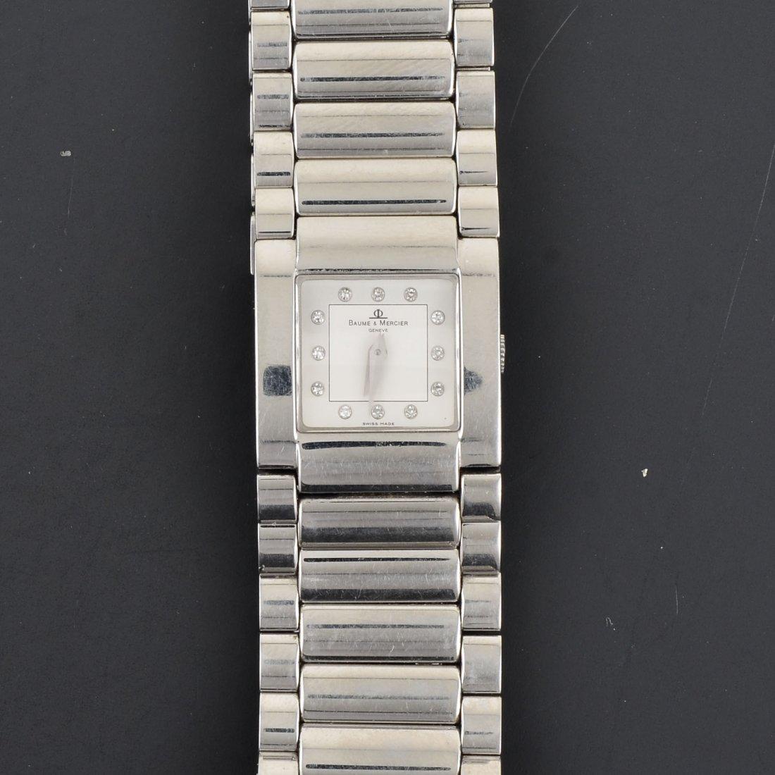 Baume & Mercier Steel Quartz Wristwatch