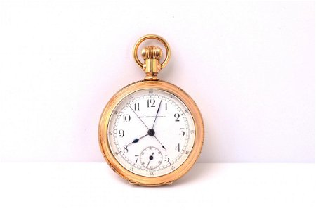 14K YG Timing and Repeating Watch Co. Pocket Watch