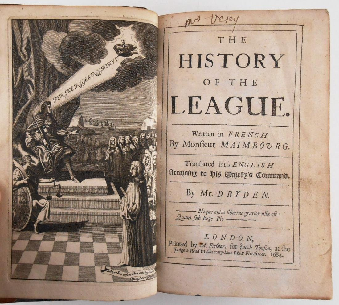 The History Of The League, 1684