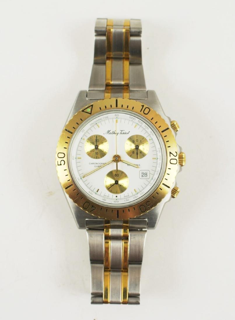 Mathey-Tissot Two-Tone Dive Watch