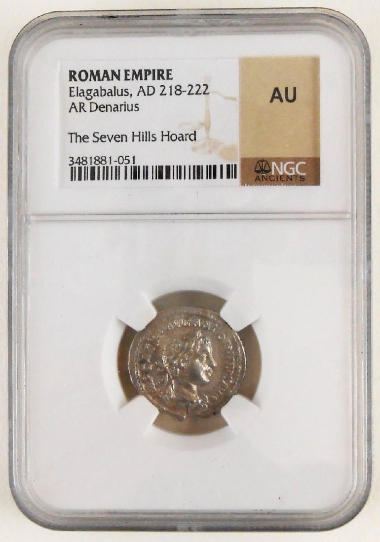 Roman Empire Silver Denarius
