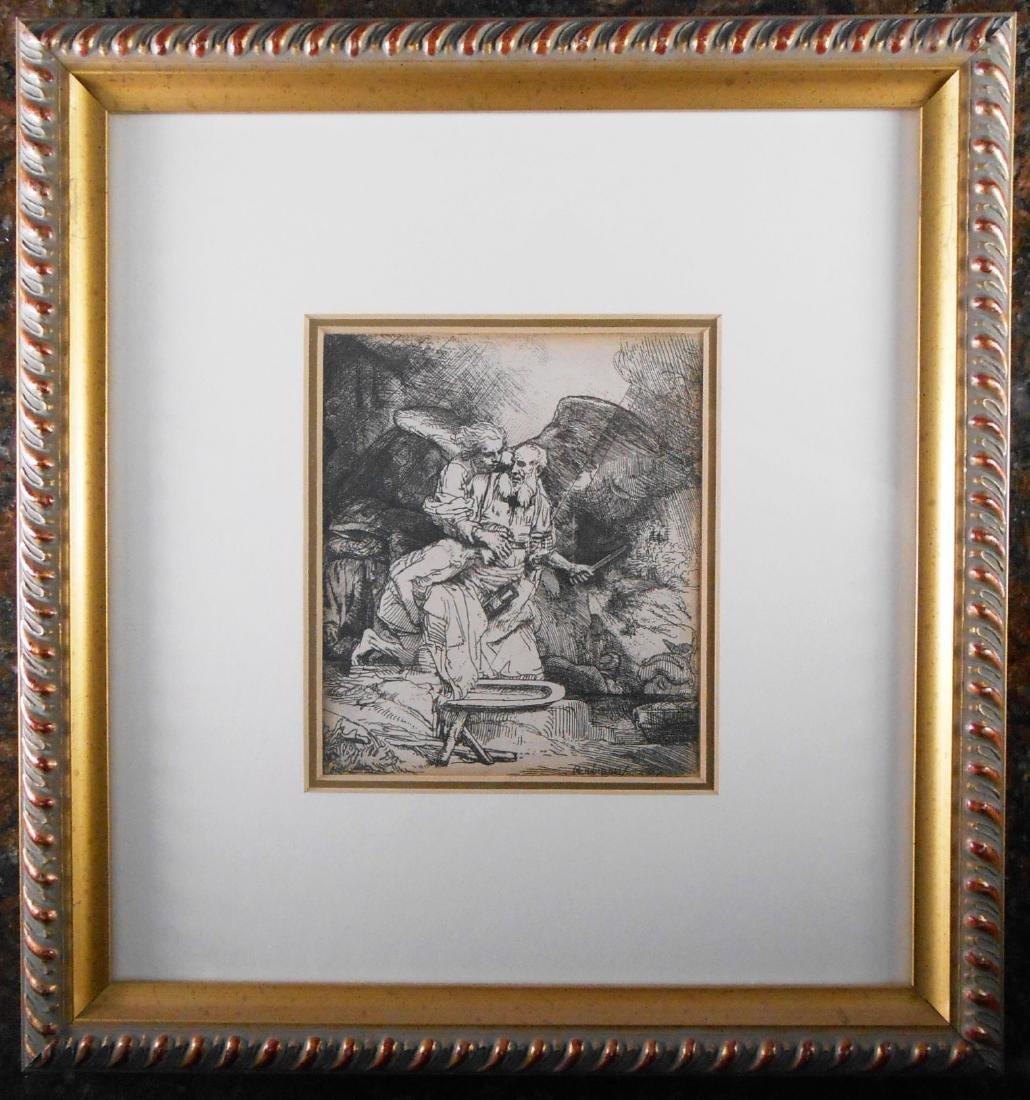 Rembrandt Harmensz Van Rijn (1606-1669) Etching