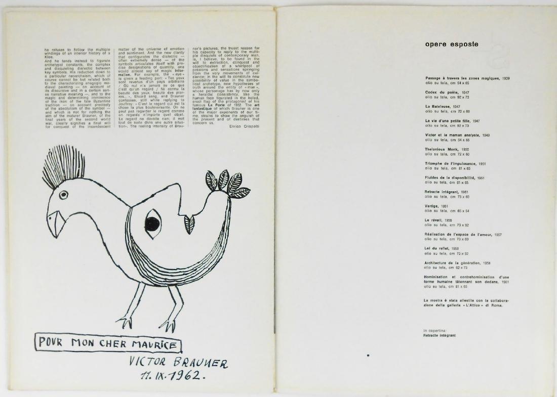 Victor Brauner (1903-1966) Pen & Ink Drawing