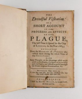 The Dreadful Visitation, 1767 Edition