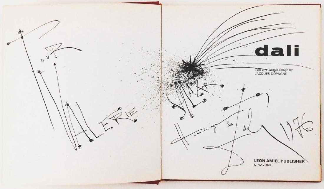 Salvador Dali (1904-1989) Illustrated Book