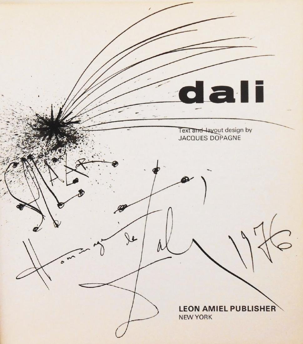 Salvador Dali (1904-1989) Illustrated Book - 2