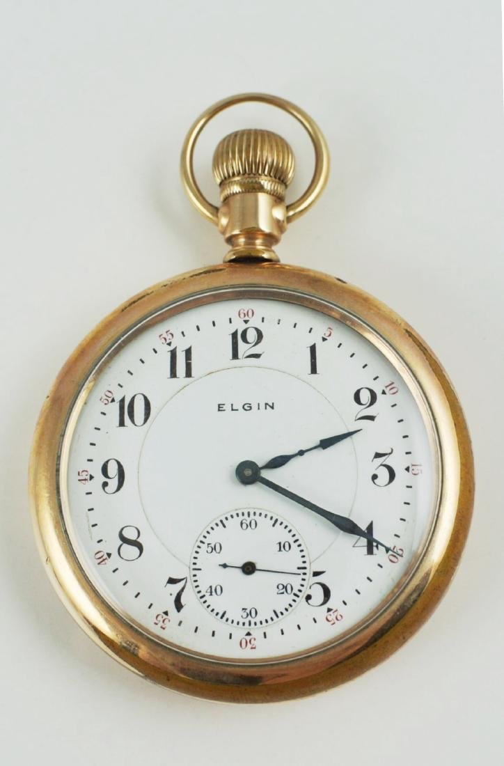 Elgin Pocket Watch, Circa 1900