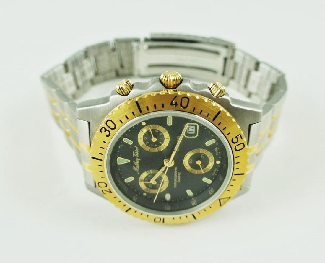 Mathey-Tissot Two-Tone Dive Watch - 2