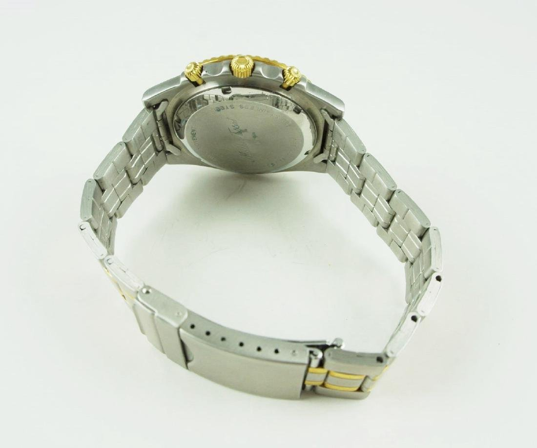 Mathey-Tissot Two-Tone Dive Watch - 3