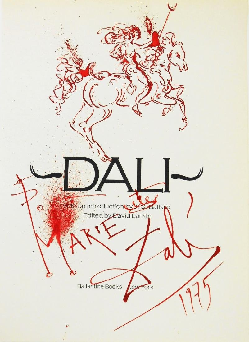Salvador Dali (1904-1989) Title Page Drawing
