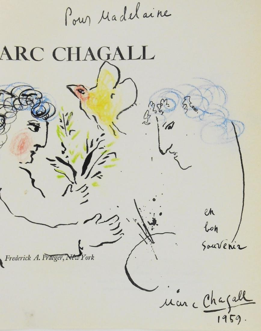 Marc Chagall (1887-1985) Ink & Watercolor - 2