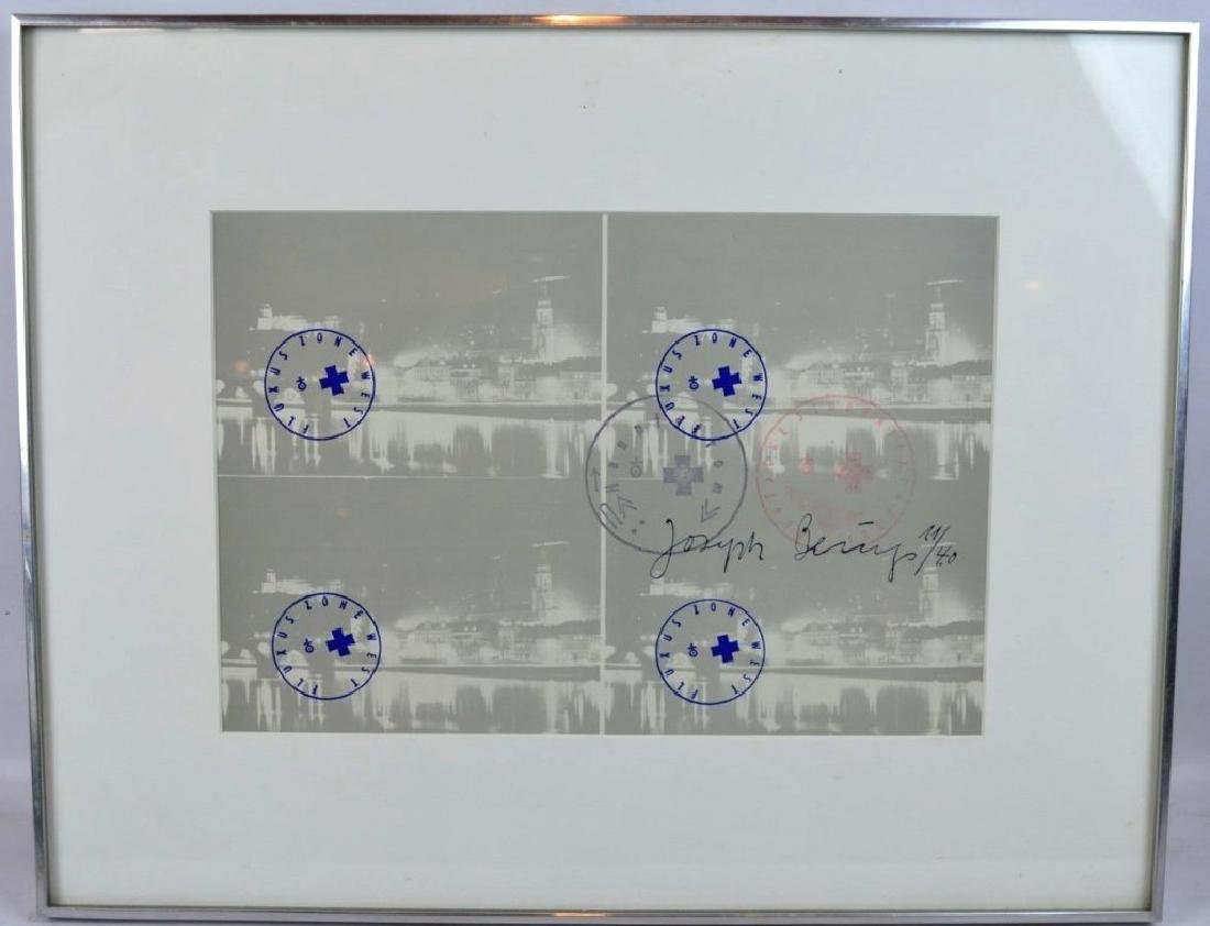 Joseph Beuys (1921-1986) Signed Lithograph - 2
