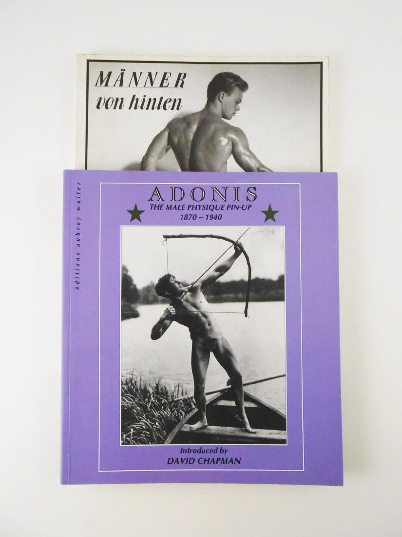 Two Male Physique Pin-Up Books - 2