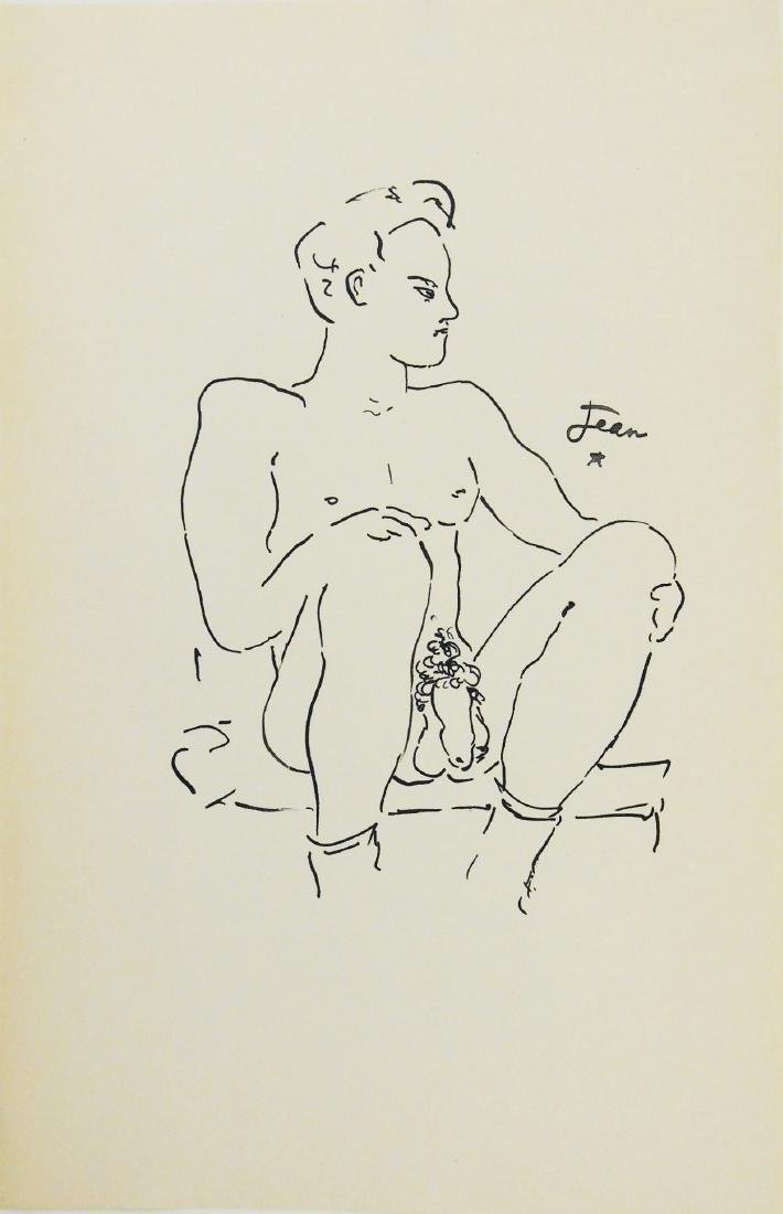 Jean Cocteau (1889-1963) Erotic Drawing
