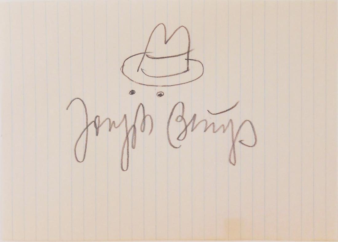 Joseph Beuys (1921-1986) Souvenir Drawing