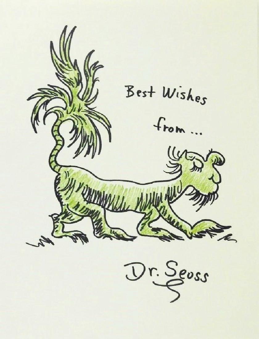 Dr. Seuss (1904-1991) Drawing