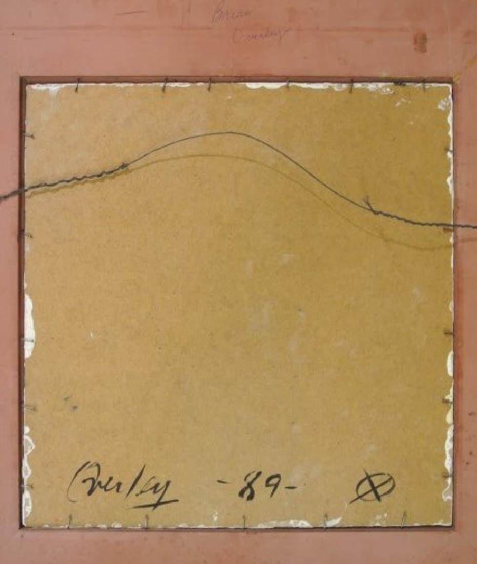 Modernist Painting Of George Washington, Signed - 4