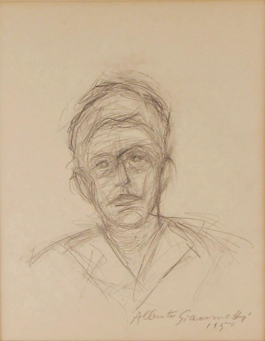 Alberto Giacometti (1901-1966) Pencil Sketch - 2