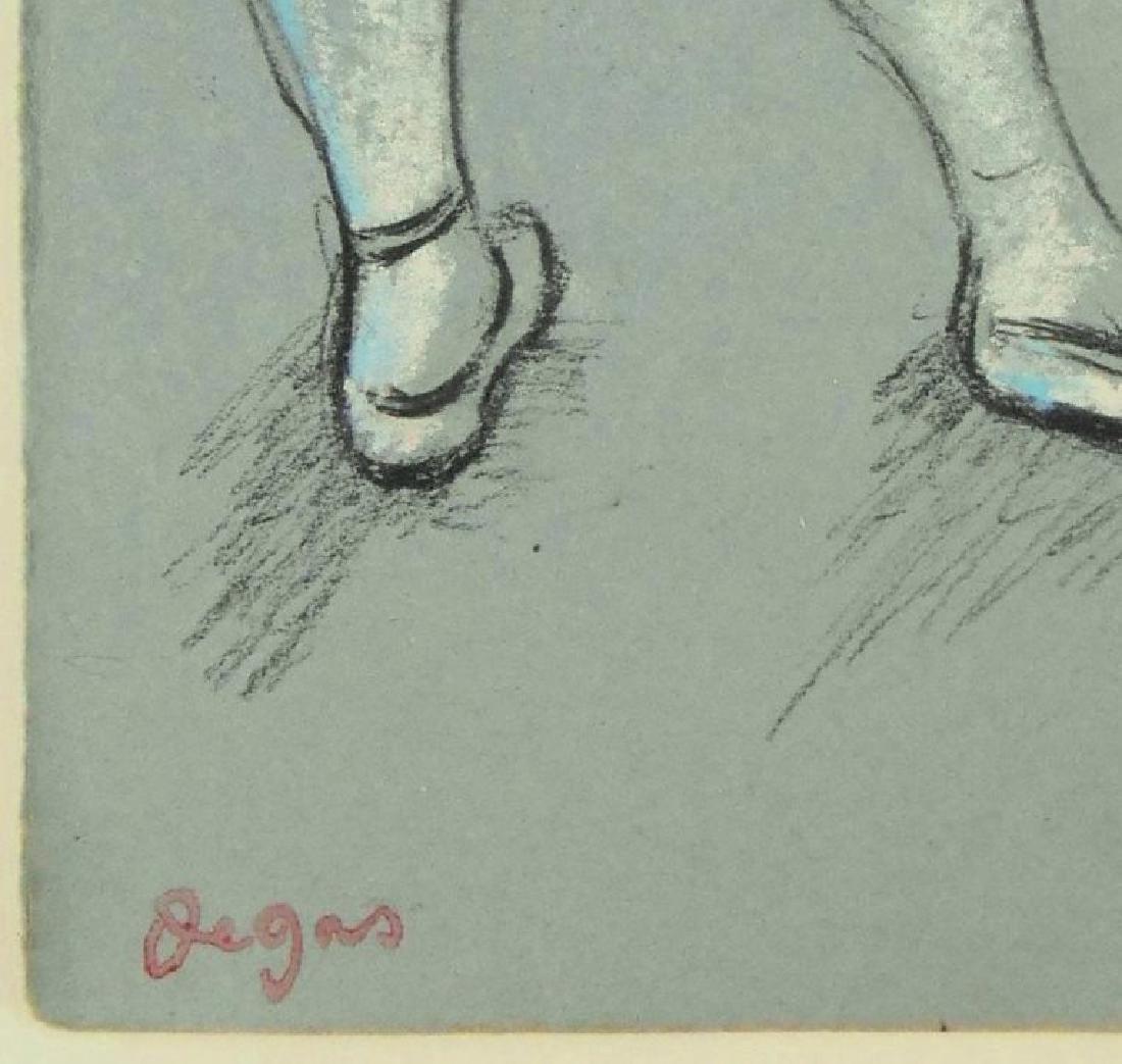 Edgar Degas (1834-1917) Charcoal Study - 2