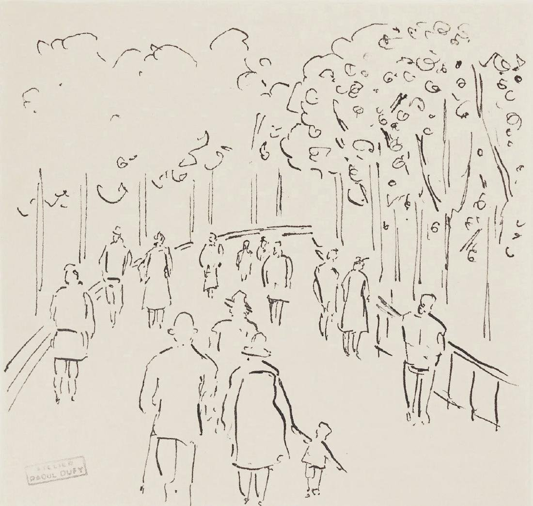 Raoul Dufy (1877-1953) Pen & Ink Drawing