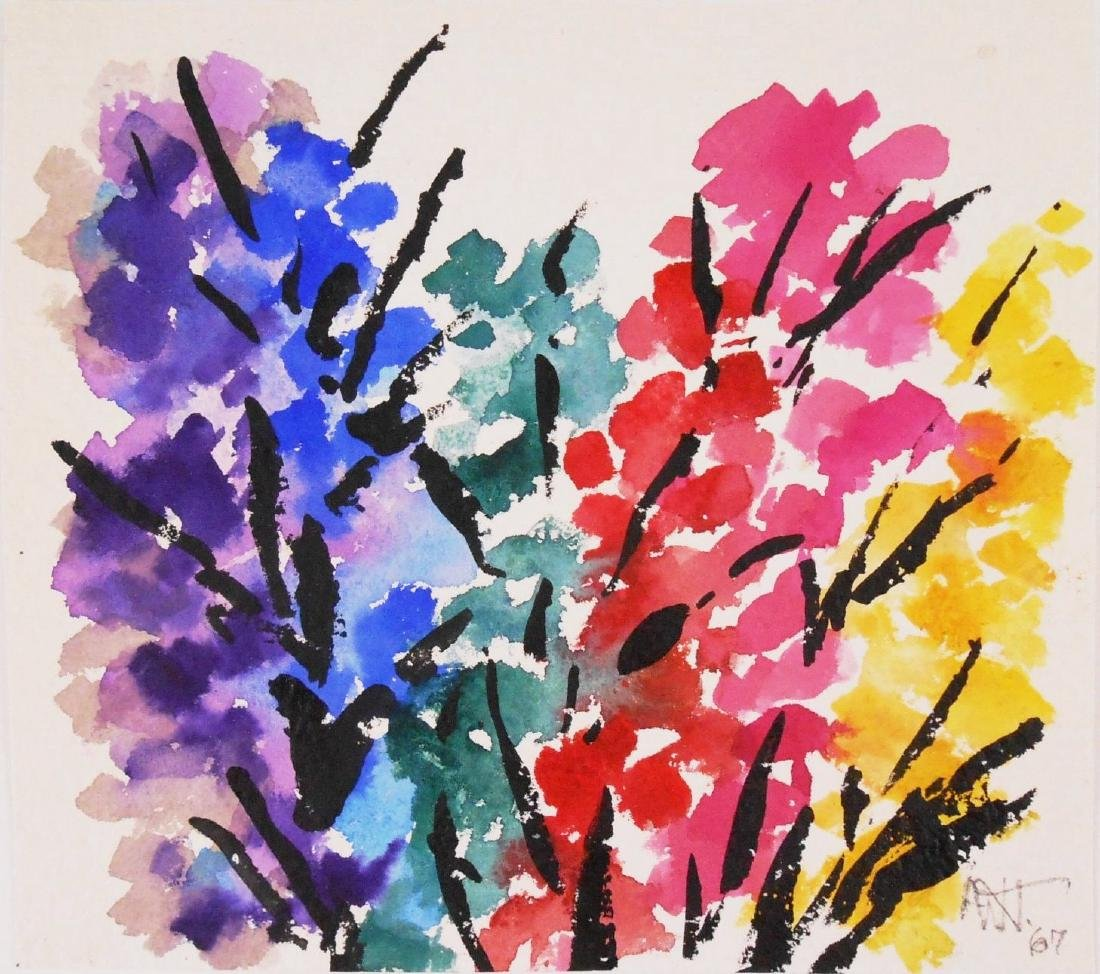 Alma Woodsey Thomas (1891-1978) Watercolor