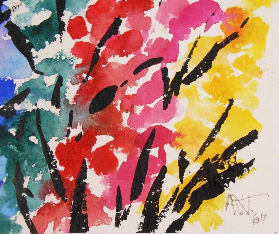 Alma Woodsey Thomas (1891-1978) Watercolor - 2