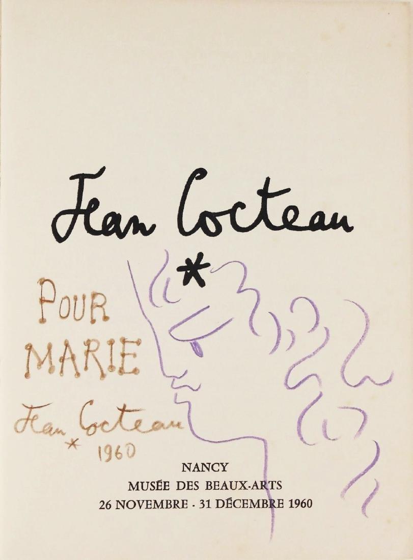 Jean Cocteau (1889-1963) Souvenir Book Drawing