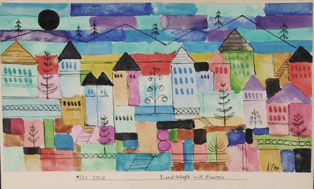 Paul Klee (1879-1940) Watercolor