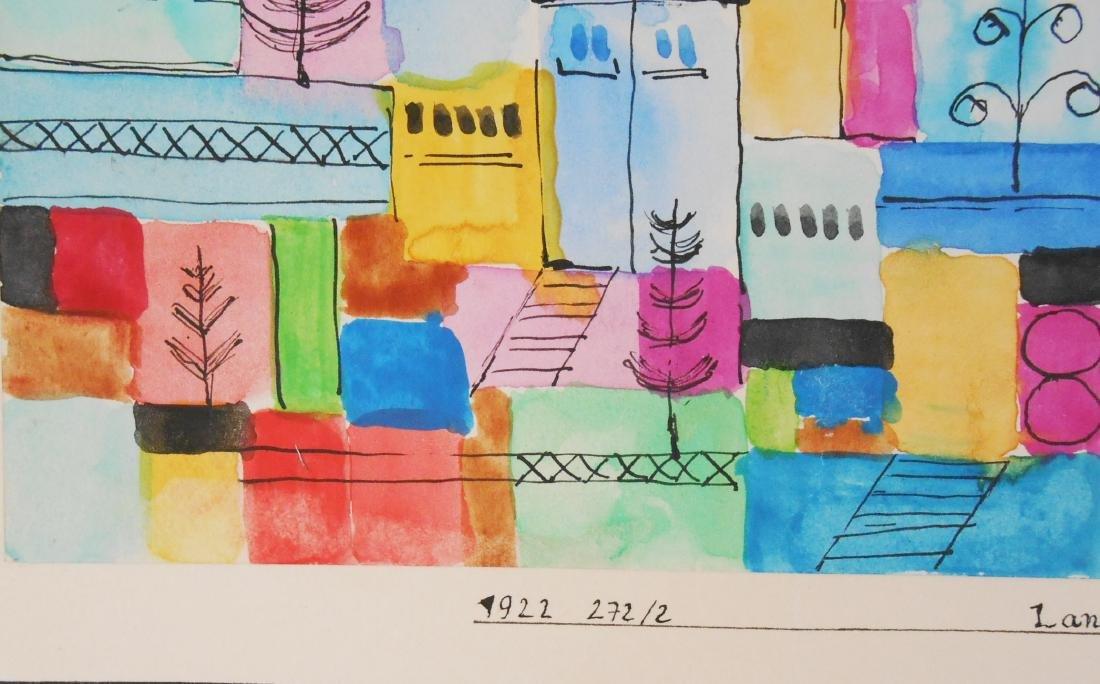 Paul Klee (1879-1940) Watercolor - 2