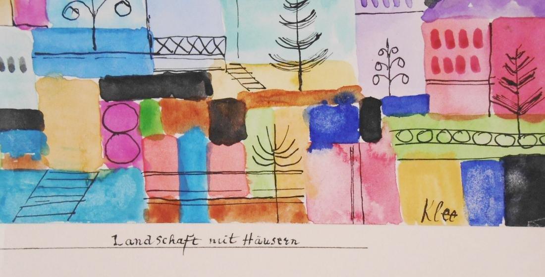 Paul Klee (1879-1940) Watercolor - 3